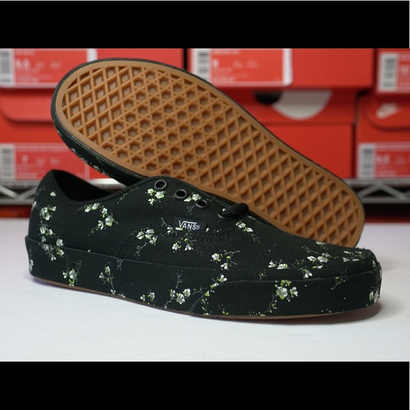 Womens Vans Authentic Midnight Floral